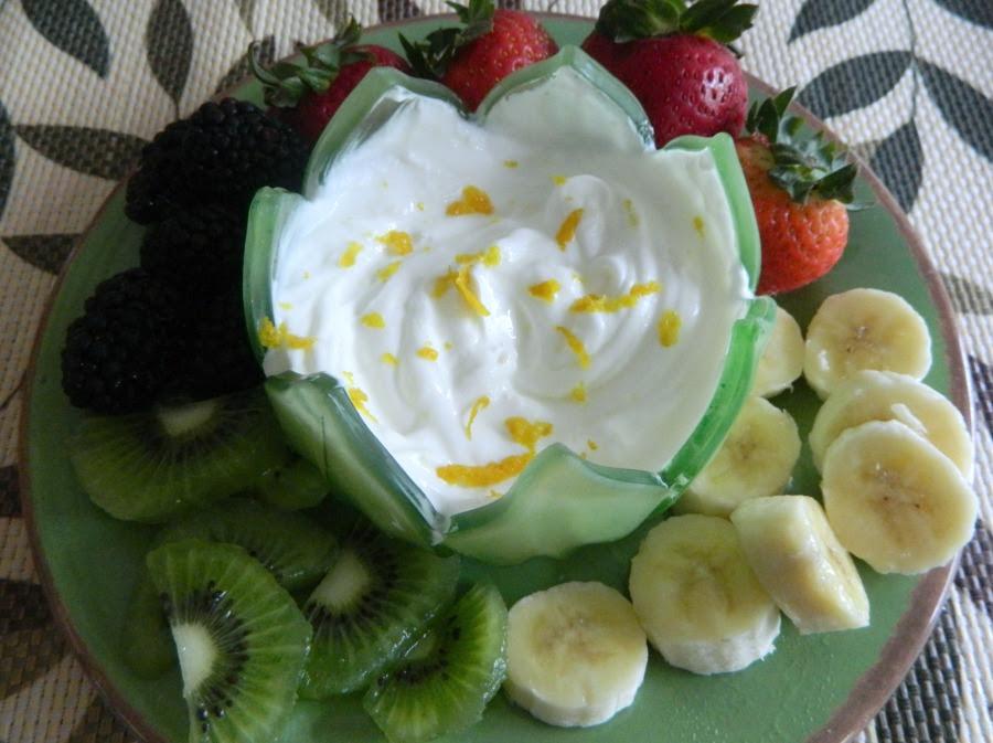 Light Luscious Fruit Dip Pams Daily Dish