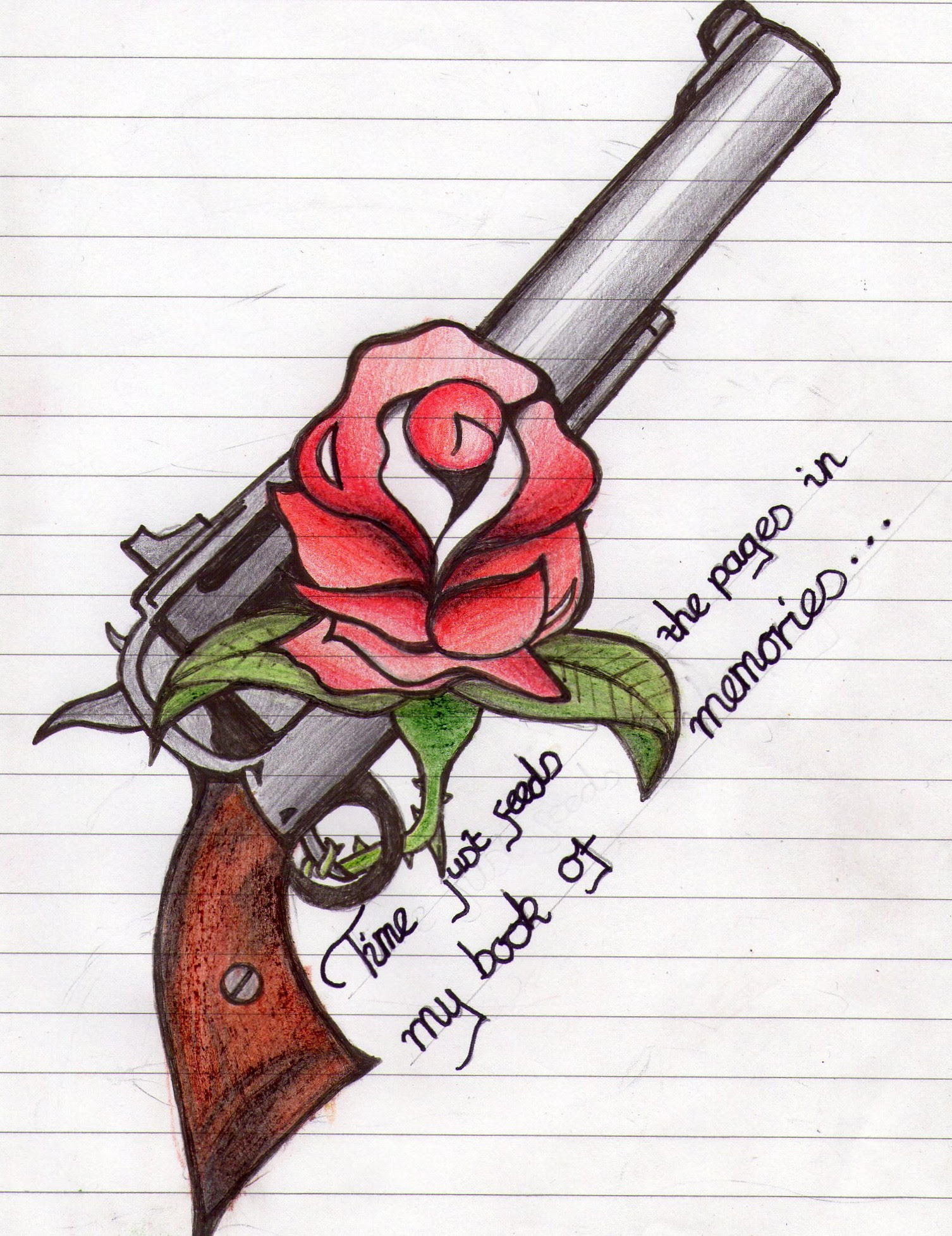 Images Of Guns And Roses Tattoo Sketches Gepezz