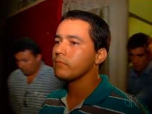 Tenente da PM Iranildo Félix, apontado como suspeito de ter matado a tiros o professor e lutador de MMA Luiz de França Trindade, de 25 anos, assassinado na zona Sul de Natal  (Foto: Reprodução/Inter TV Cabugi)