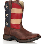Lil' Durango Kids Patriotic Western Flag Boot
