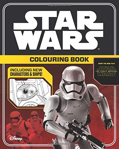 Star Wars the Force Awakens Colouring Book (Star Wars Colouring Books)