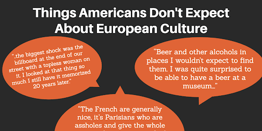 17 Ways Americans Are Shocked by European Culture - Destination Tips