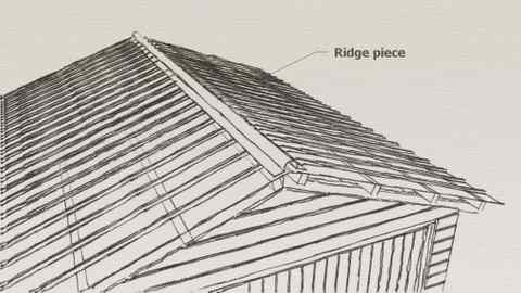 Garden sheds: Free gable roof shed plans