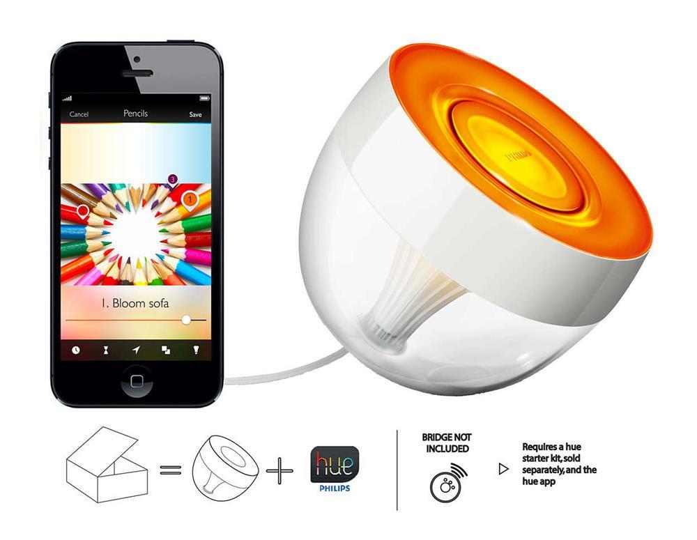Philips Hue Iris - SmartHome Lampe / Gluehbirne