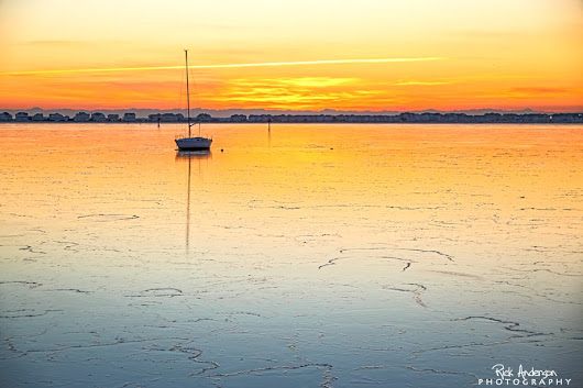 Sunrise Over Shallowbag Bay, Manteo - EastCoastNC.com