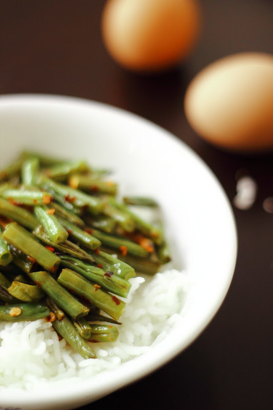 Quick Skillet Green Beans