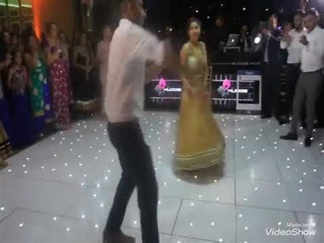 Lovely couple   wedding dance   punjabi song   peg baliye