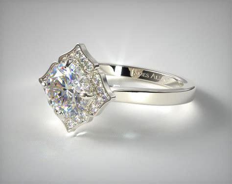 Magnolia Engagement Ring   Platinum   James Allen