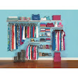 Shop Rubbermaid Homefree Series 10-ft Adjustable Mount Wire Shelving Kits at Lowes.com