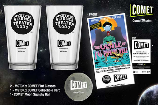 Comet TV: Mystery Science Theater 3000 Giveaway! Blast Off This April! - HorrorFix - Horror Movie News Reviews and More!
