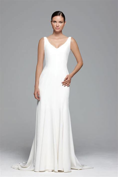 25  best ideas about Plain wedding dress on Pinterest
