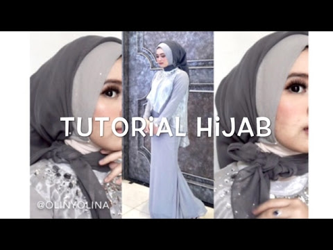 VIDEO : #15 tutorial hijab segi empat paris rawis wisuda pesta kondangan simple by @olinyolina - hijabyang digunakan : 1. segi empat bahan rawis glitter warna abu-abu mudahijabyang digunakan : 1. segi empat bahan rawis glitter warna abu-a ...
