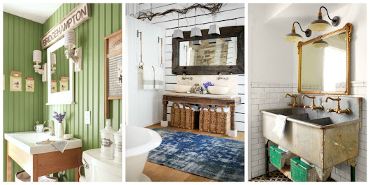 80+ Inspiring Bathroom Decorating Ideas