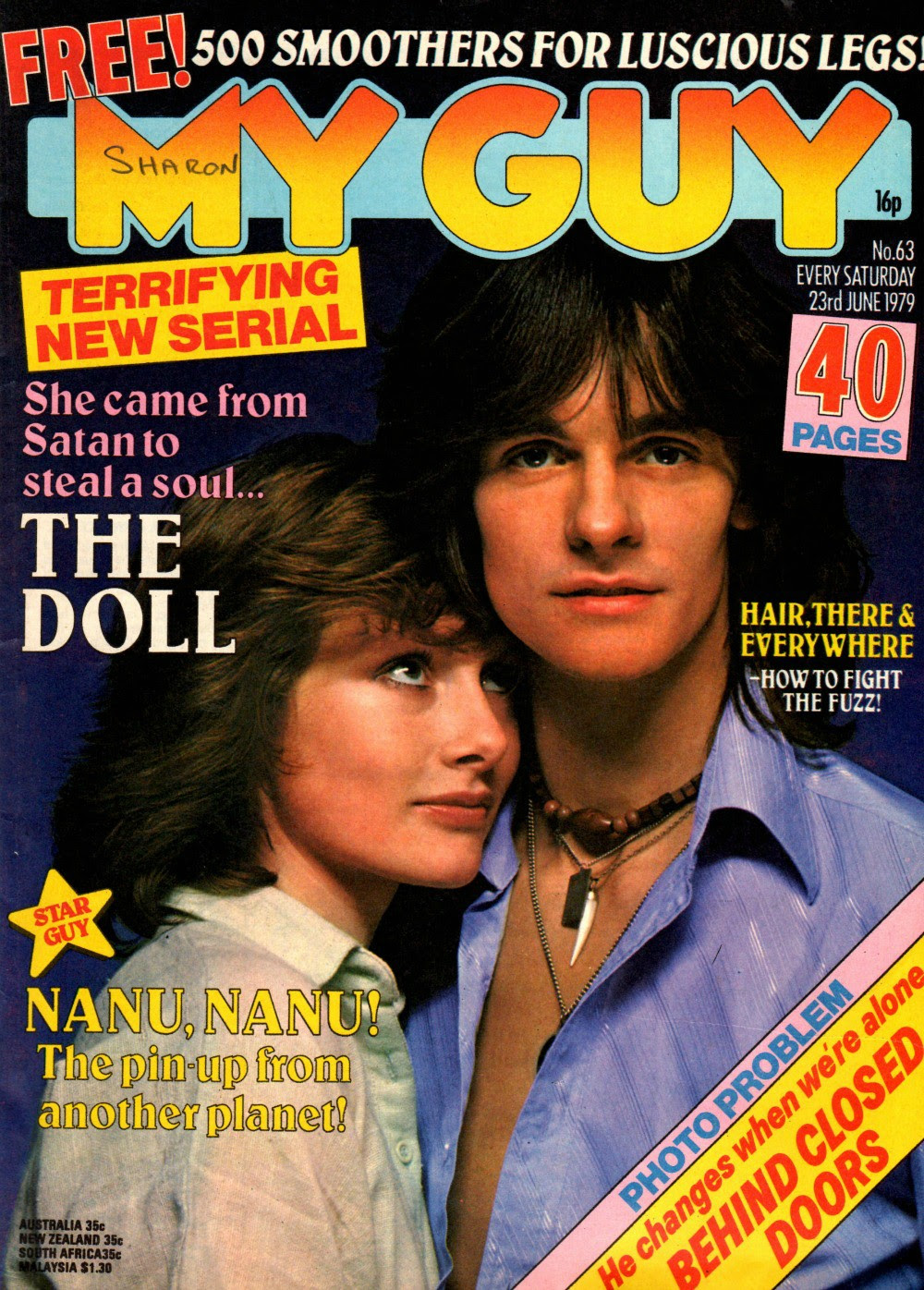 My Guy magazine, June 1979