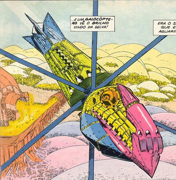 Galocóptero da Era Metalzoica