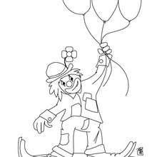 Payaso Dibujos Para Colorear Juegos Gratuitos Dibujo Para Niños