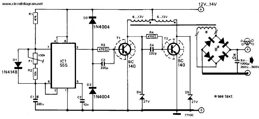 12v Dc To 220v Ac Inverter Circuit How To Make Pdf