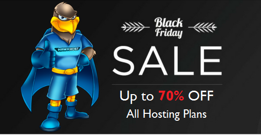 Hawk Host Black Friday Deal - Save Up to 70% OFF on Hosting Plans - Spring Coupon