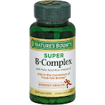 Natures Bounty Super B-Complex, Coated Tablets - 150 tablets