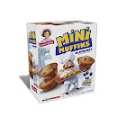 Little Debbie Blueberry Mini Muffins 8.27 oz Boxes - Pack of 2
