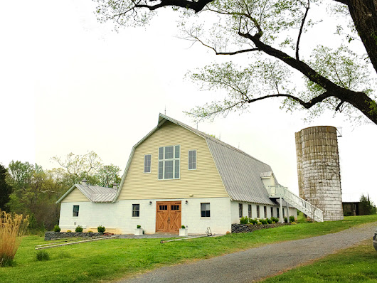 Before and After: The Dairy Barn Exterior