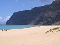 beach at polihale