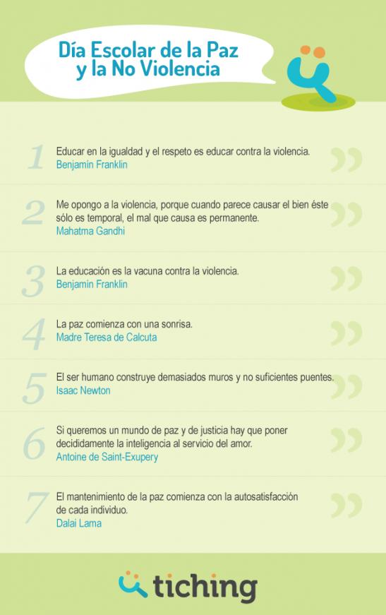 Las 7 Mejores Frases Sobre La Paz Y La No Violencia El Blog De