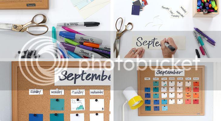 Corcho con planning mensual