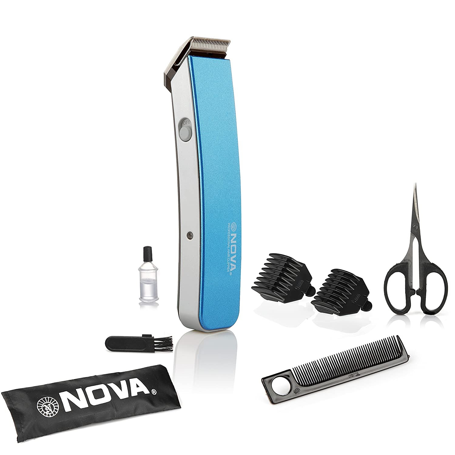 Deals on Nova NHT 1047 Pro Skin Advance Trimmer (Blue)