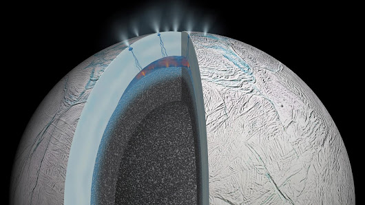 """I'm flabbergasted by what we're seeing at Enceladus"", Enceladus:  A second genesis of life at Saturn?, Discovery - BBC World Service"