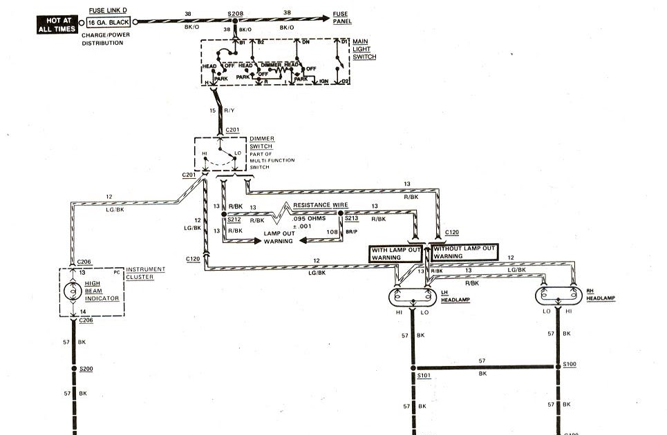 83 Ford Ranger Ignition Wiring Schematic