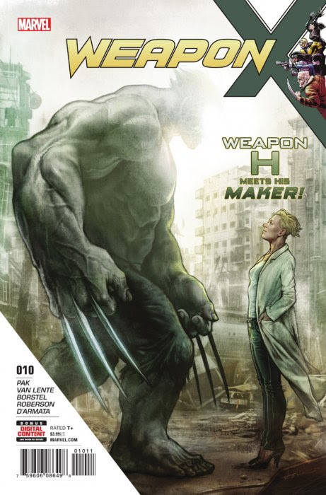 Weapon X #10