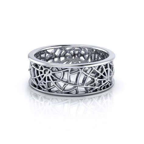 Spider Web Wedding Ring   Jewelry Designs