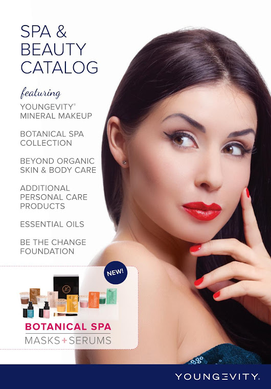 Youngevity spa and beauty catalog 2017
