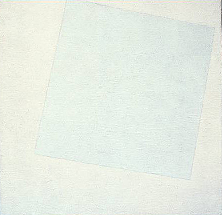casimir malevich, white on white