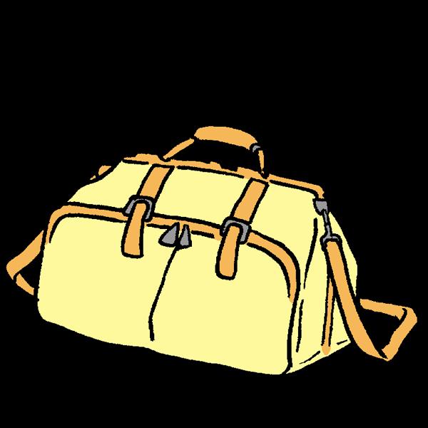 鞄のイラスト かわいいフリー素材が無料のイラストレイン