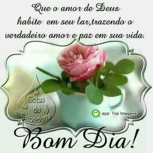 Frases De Otimismo Bom Dia Amor De Deus Frases Para Pensar