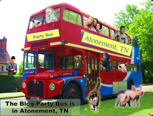 Atonement in Bloom Book Launch Party Bus