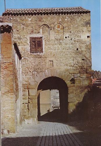Puerta de Valmardón de Toledo hacia 1960