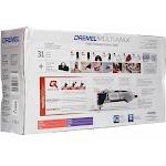 Dremel Oscillating Tool Kit Multi-Max 32-Piece Corded 3.8-Amp Quick-Lo