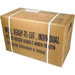 MRE MREs Meals ready-to-eat Box B Genuine U.S. Military Surplus Menus