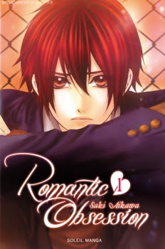 Couverture Romantic Obsession, tome 1