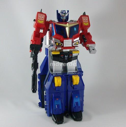 Transformers Star Convoy G1 - modo robot