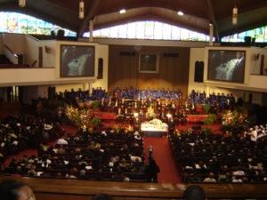E.E. Cleveland Funeral