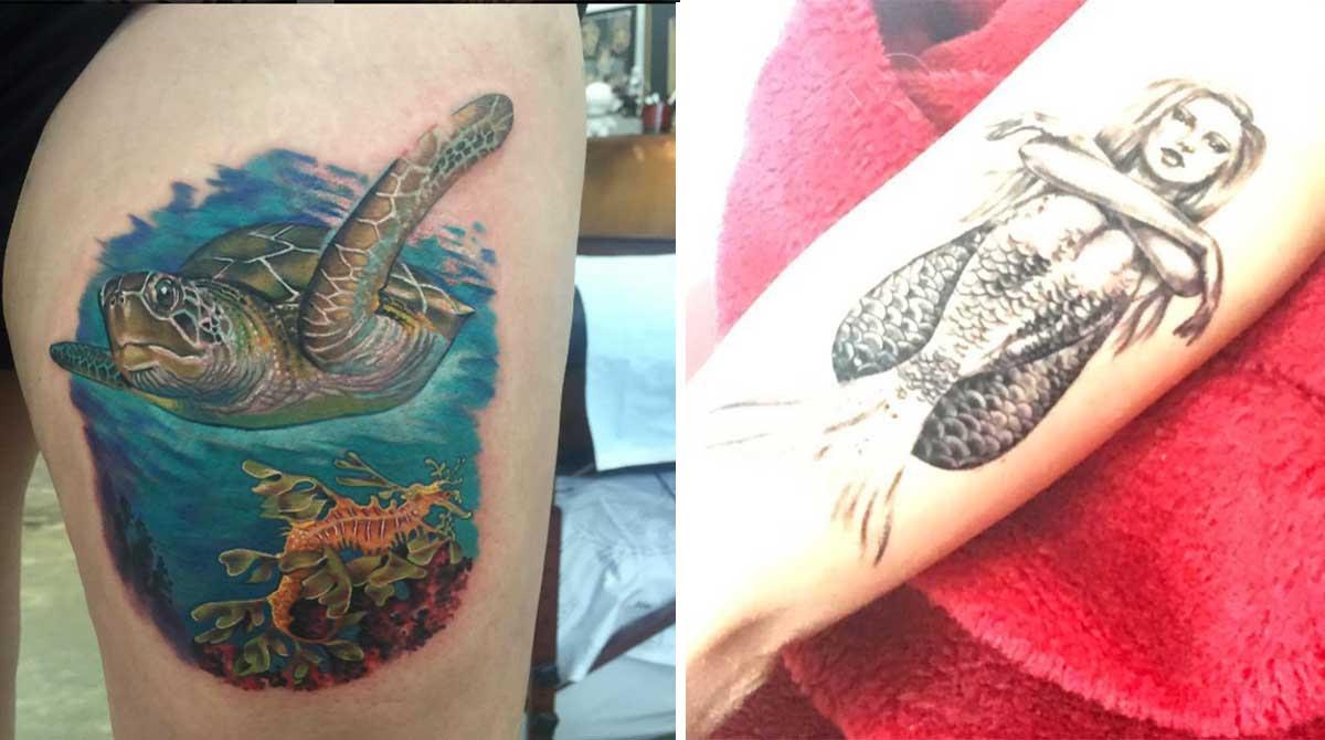 20 Tatuajes Inspirados En El Mar Y Sus Maravillas Upsocl