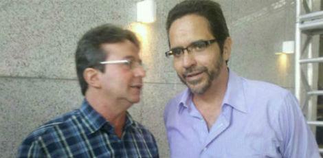 Os dois pré-candidatos do PT / Foto: Alvaro Filho/JC Imagem