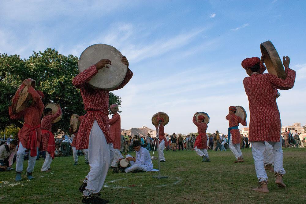 Rajasthan, India.  Elephant Festival.