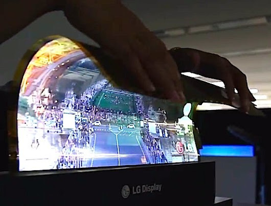 LG Flexible 18-Inch Display Concept |LG Future Concept