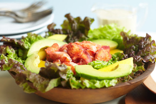 A lobster, avocado & mango salad that just screams summer in Maine