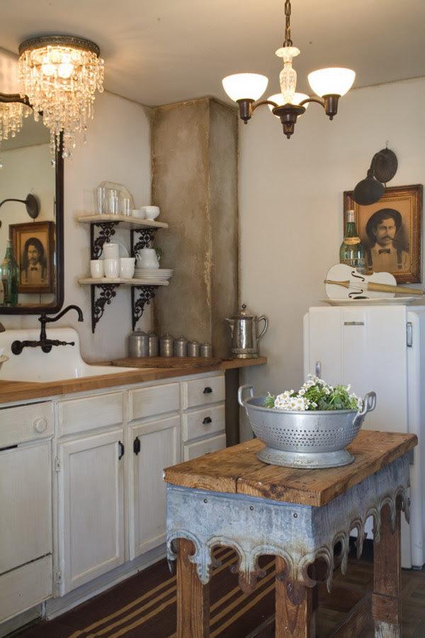 50 Sweet Shabby Chic Kitchen Ideas 2017